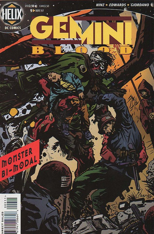 Cover of Gemini Blood (Vol 1) #9. One of 250,000 Vintage American Comics on sale from Krypton!