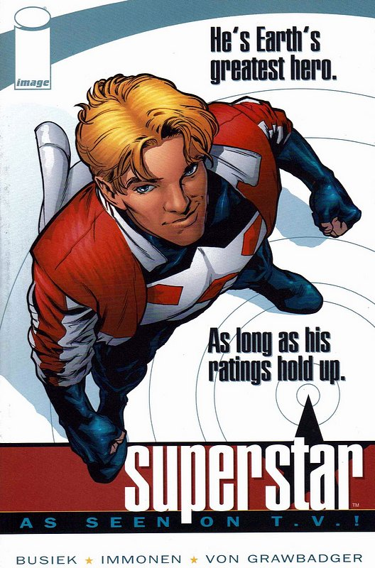 Cover of Superstar: As Seen on TV (2001 One Shot) #1. One of 250,000 Vintage American Comics on sale from Krypton!