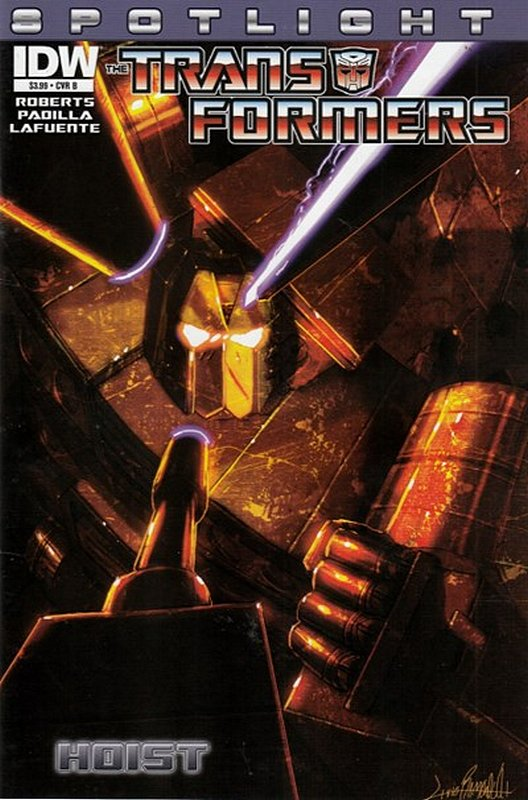 Cover of Transformers Spotlight: Hoist (2013 One Shot) #1. One of 250,000 Vintage American Comics on sale from Krypton!