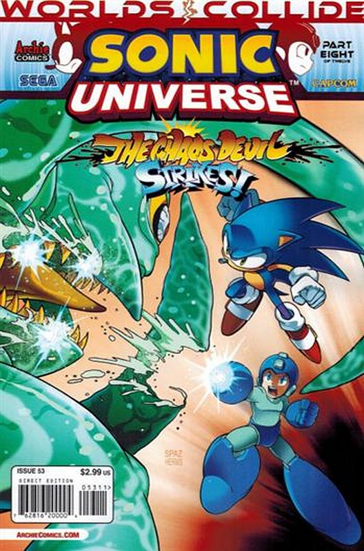 Cover of Sonic Universe (Vol 1) #53. One of 250,000 Vintage American Comics on sale from Krypton!