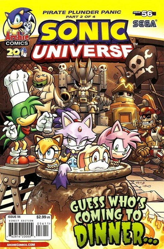 Cover of Sonic Universe (Vol 1) #56. One of 250,000 Vintage American Comics on sale from Krypton!