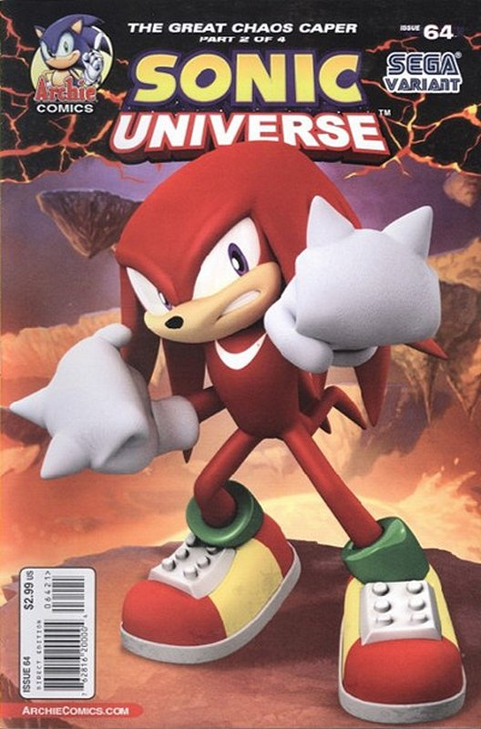 Cover of Sonic Universe (Vol 1) #64. One of 250,000 Vintage American Comics on sale from Krypton!