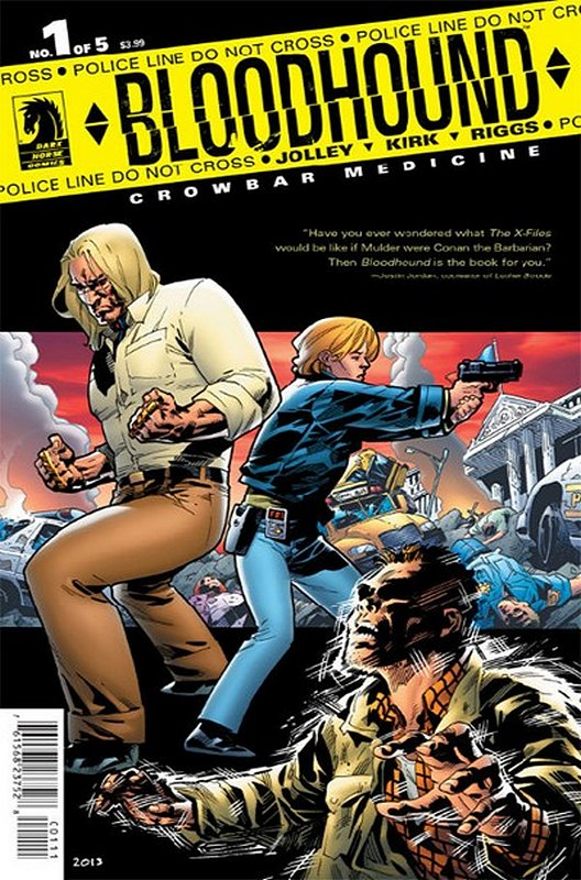 Cover of Bloodhound: Crowbar Medicine (2013 Ltd) #1. One of 250,000 Vintage American Comics on sale from Krypton!