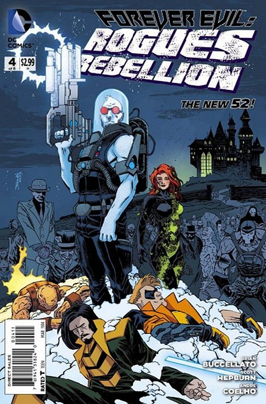 Cover of Forever Evil: Rogues Rebellion (2013 Ltd) #4. One of 250,000 Vintage American Comics on sale from Krypton!