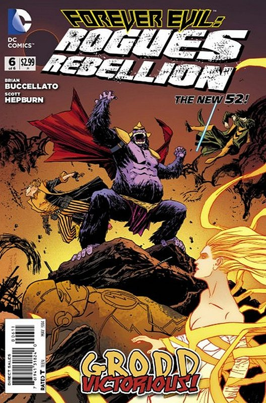 Cover of Forever Evil: Rogues Rebellion (2013 Ltd) #6. One of 250,000 Vintage American Comics on sale from Krypton!