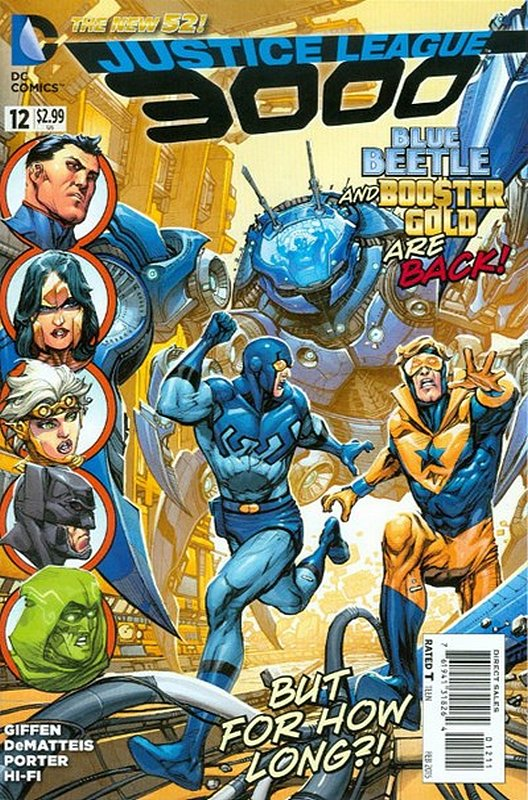 Cover of Justice League 3000 (Vol 1) #12. One of 250,000 Vintage American Comics on sale from Krypton!