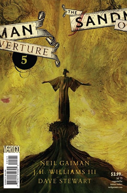 Cover of Sandman: Overture (2013 Ltd) #5. One of 250,000 Vintage American Comics on sale from Krypton!