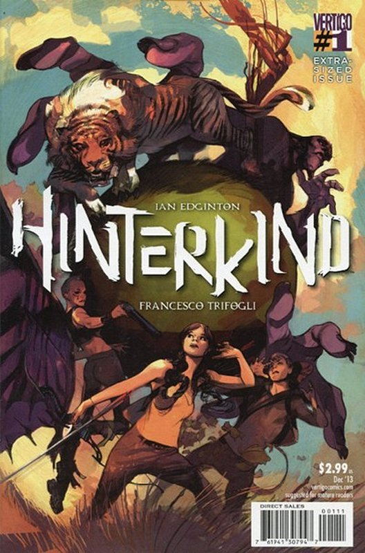 Cover of Hinterkind (Vol 1) #1. One of 250,000 Vintage American Comics on sale from Krypton!