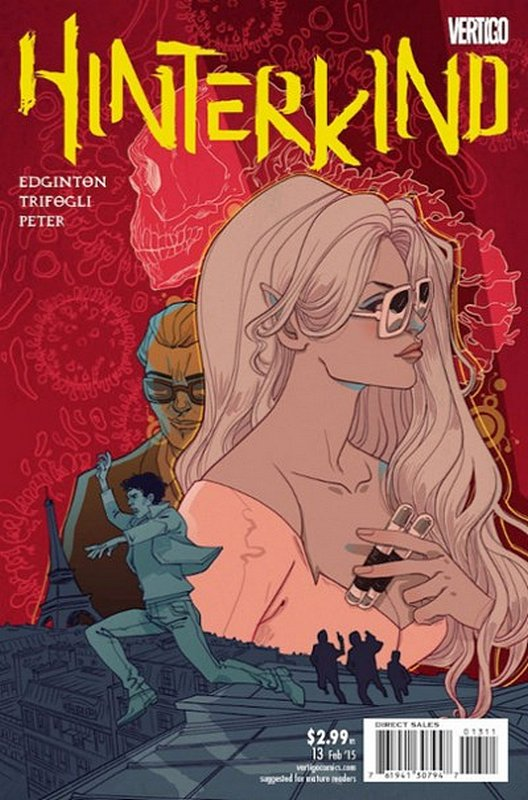 Cover of Hinterkind (Vol 1) #13. One of 250,000 Vintage American Comics on sale from Krypton!