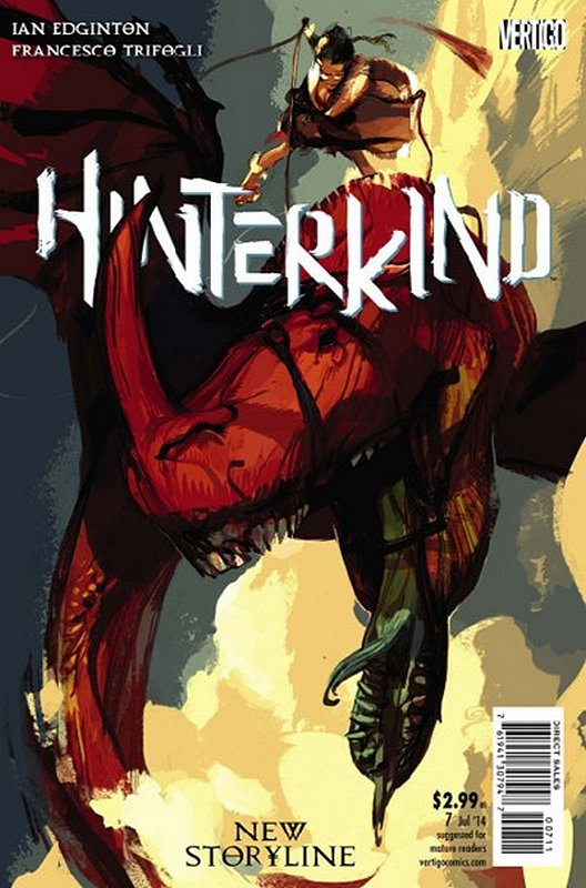 Cover of Hinterkind (Vol 1) #7. One of 250,000 Vintage American Comics on sale from Krypton!