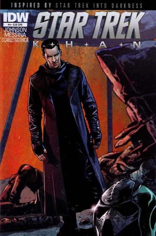 Cover of Star Trek: Khan (2013 Ltd) #4. One of 250,000 Vintage American Comics on sale from Krypton!