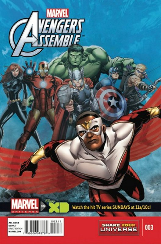 Cover of Avengers Assemble: Marvel Universe (Vol 1) #3. One of 250,000 Vintage American Comics on sale from Krypton!
