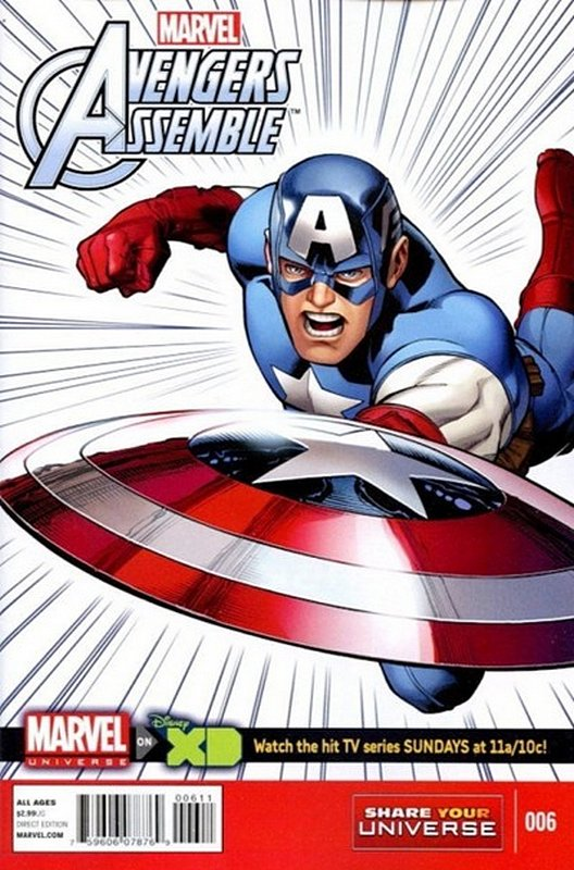 Cover of Avengers Assemble: Marvel Universe (Vol 1) #6. One of 250,000 Vintage American Comics on sale from Krypton!