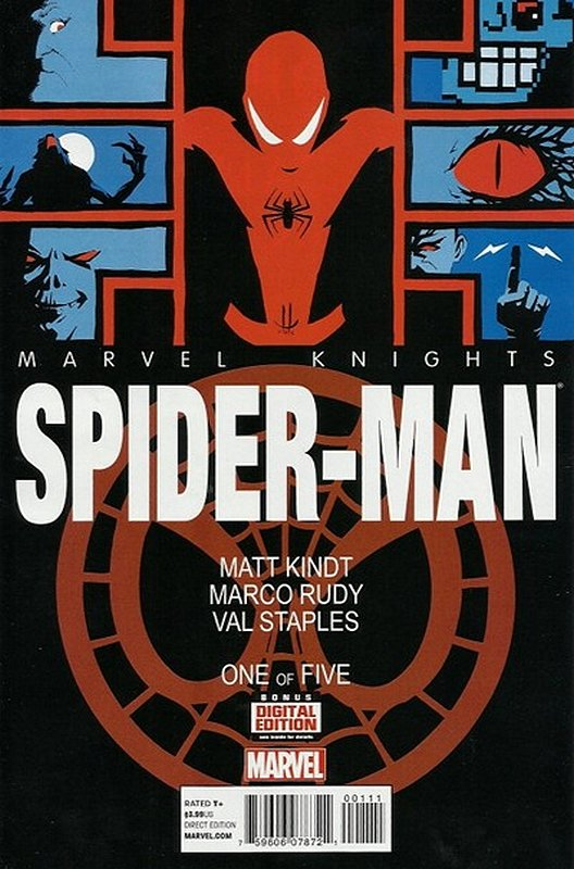 Cover of Marvel Knights: Spider-Man (2013 Ltd) #1. One of 250,000 Vintage American Comics on sale from Krypton!