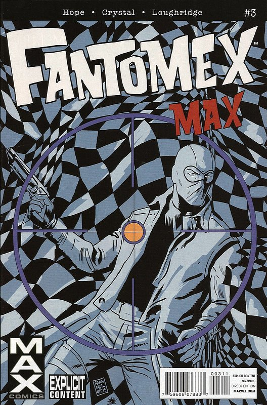 Cover of Fantomex Max (2013 Ltd) #3. One of 250,000 Vintage American Comics on sale from Krypton!