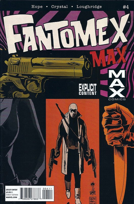 Cover of Fantomex Max (2013 Ltd) #4. One of 250,000 Vintage American Comics on sale from Krypton!