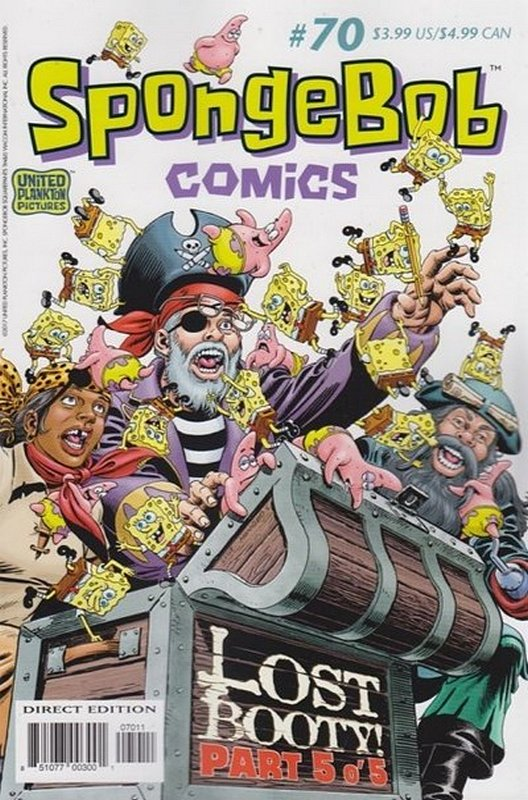 Cover of Spongebob Comics (Vol 1) #70. One of 250,000 Vintage American Comics on sale from Krypton!
