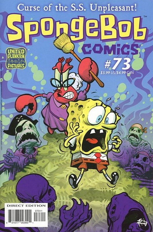 Cover of Spongebob Comics (Vol 1) #73. One of 250,000 Vintage American Comics on sale from Krypton!