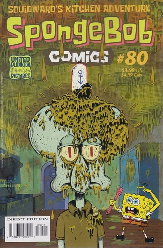 Cover of Spongebob Comics (Vol 1) #80. One of 250,000 Vintage American Comics on sale from Krypton!