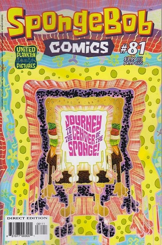 Cover of Spongebob Comics (Vol 1) #81. One of 250,000 Vintage American Comics on sale from Krypton!