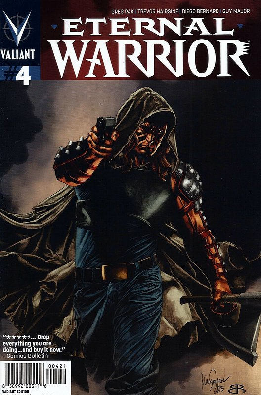 Cover of Eternal Warrior (Vol 2) #4. One of 250,000 Vintage American Comics on sale from Krypton!