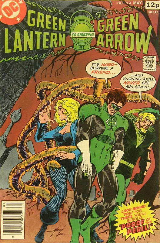 Cover of Green Lantern (Vol 2) #104. One of 250,000 Vintage American Comics on sale from Krypton!