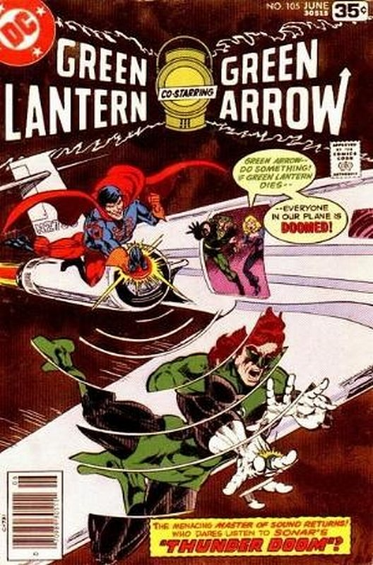 Cover of Green Lantern (Vol 2) #105. One of 250,000 Vintage American Comics on sale from Krypton!