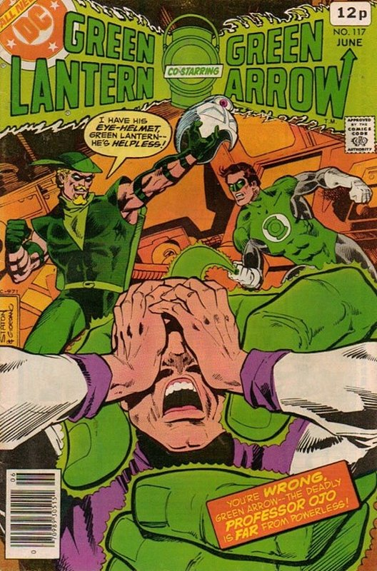 Cover of Green Lantern (Vol 2) #117. One of 250,000 Vintage American Comics on sale from Krypton!