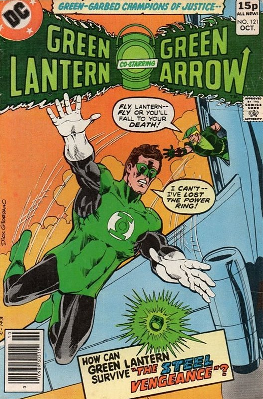 Cover of Green Lantern (Vol 2) #121. One of 250,000 Vintage American Comics on sale from Krypton!