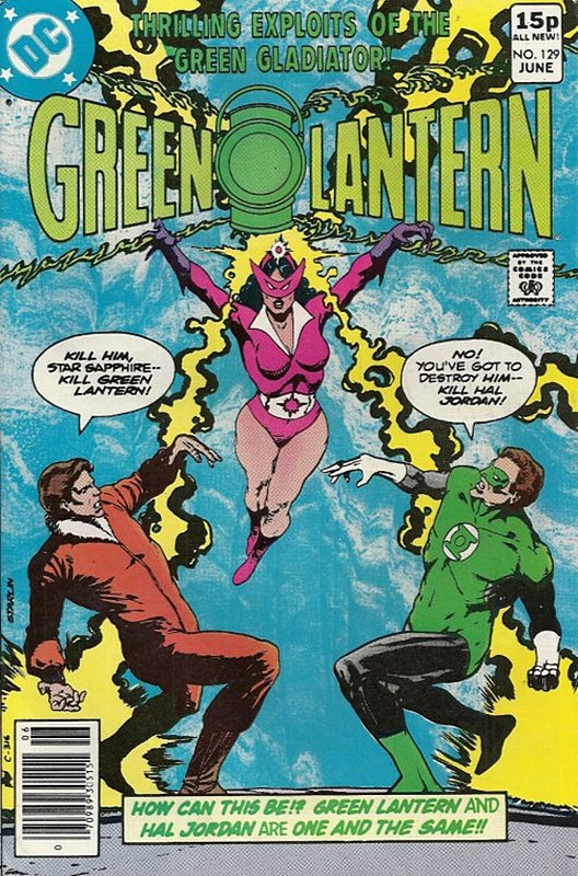 Cover of Green Lantern (Vol 2) #129. One of 250,000 Vintage American Comics on sale from Krypton!