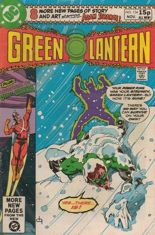 Cover of Green Lantern (Vol 2) #134. One of 250,000 Vintage American Comics on sale from Krypton!
