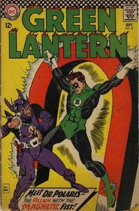 Cover of Green Lantern (Vol 2) #47. One of 250,000 Vintage American Comics on sale from Krypton!
