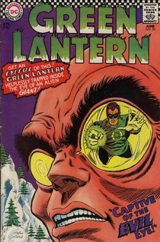 Cover of Green Lantern (Vol 2) #53. One of 250,000 Vintage American Comics on sale from Krypton!