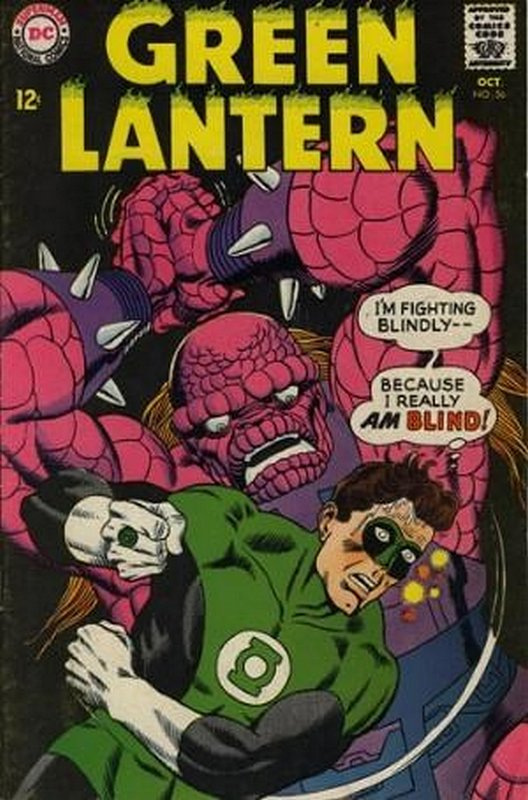Cover of Green Lantern (Vol 2) #56. One of 250,000 Vintage American Comics on sale from Krypton!