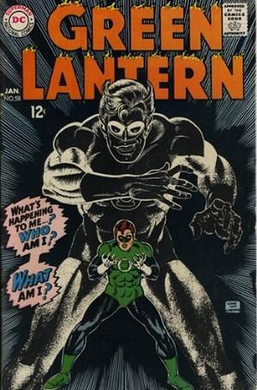 Cover of Green Lantern (Vol 2) #58. One of 250,000 Vintage American Comics on sale from Krypton!
