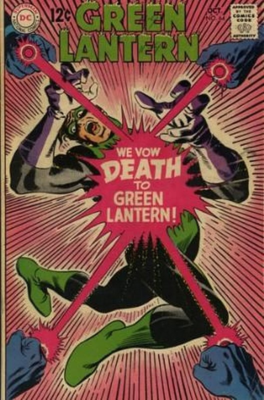 Cover of Green Lantern (Vol 2) #64. One of 250,000 Vintage American Comics on sale from Krypton!