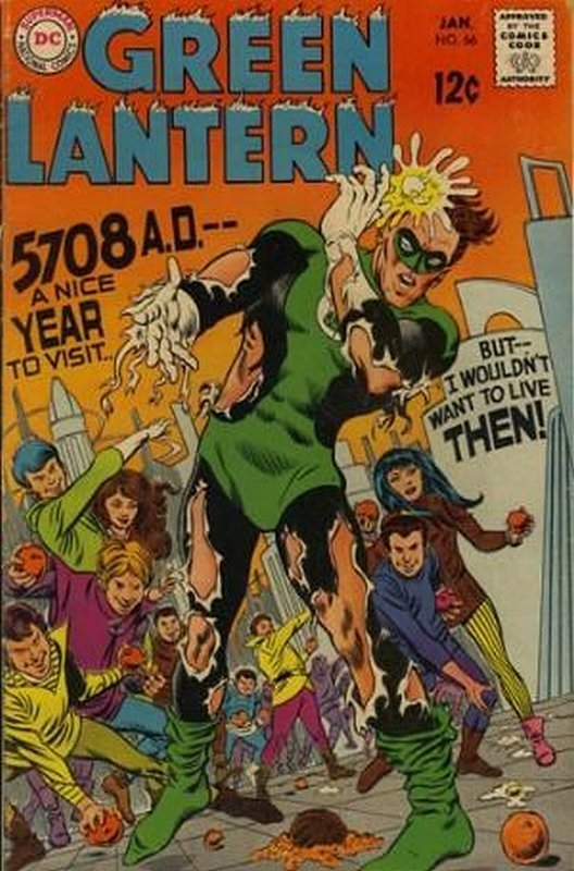 Cover of Green Lantern (Vol 2) #66. One of 250,000 Vintage American Comics on sale from Krypton!
