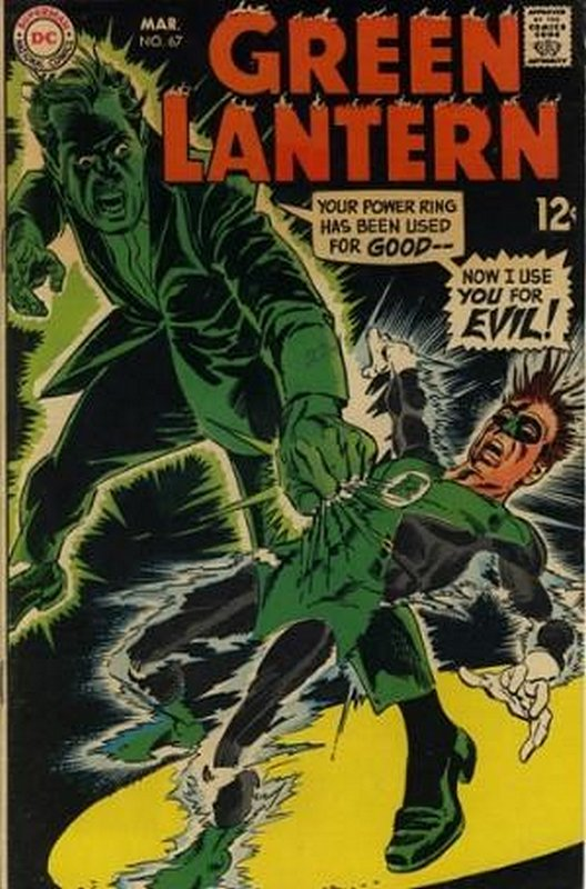 Cover of Green Lantern (Vol 2) #67. One of 250,000 Vintage American Comics on sale from Krypton!