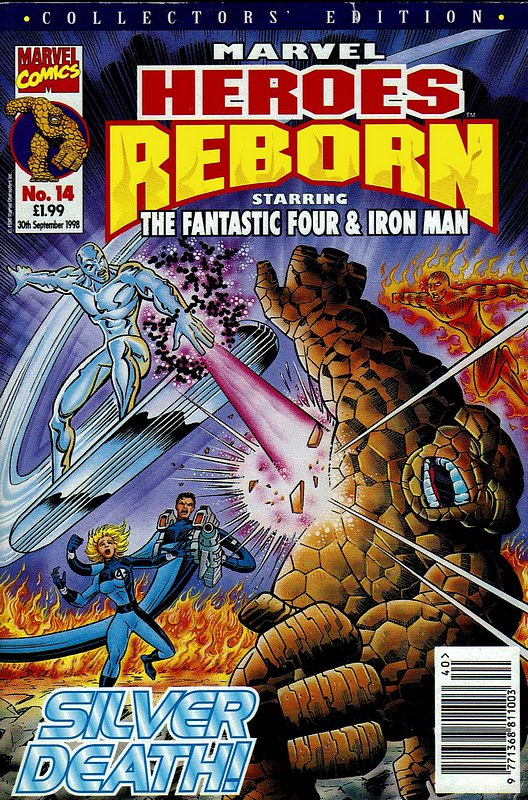 Cover of Marvel Heroes Reborn (Vol 1) (UK) #14. One of 250,000 Vintage American Comics on sale from Krypton!