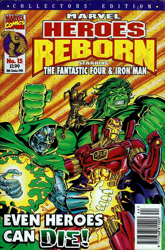 Cover of Marvel Heroes Reborn (Vol 1) (UK) #15. One of 250,000 Vintage American Comics on sale from Krypton!