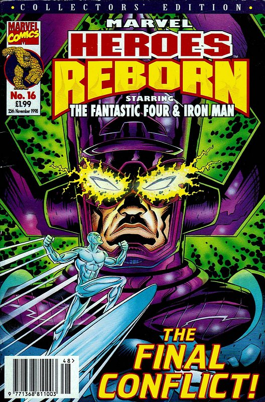 Cover of Marvel Heroes Reborn (Vol 1) (UK) #16. One of 250,000 Vintage American Comics on sale from Krypton!