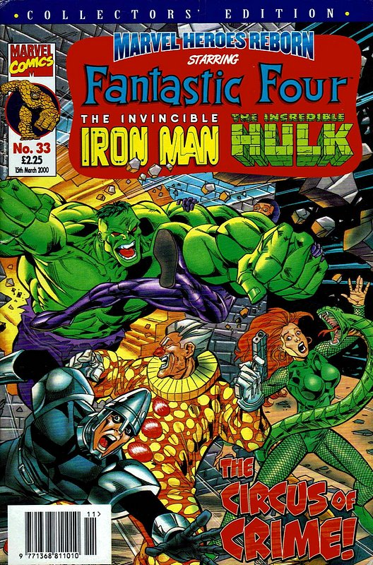 Cover of Marvel Heroes Reborn (Vol 1) (UK) #33. One of 250,000 Vintage American Comics on sale from Krypton!