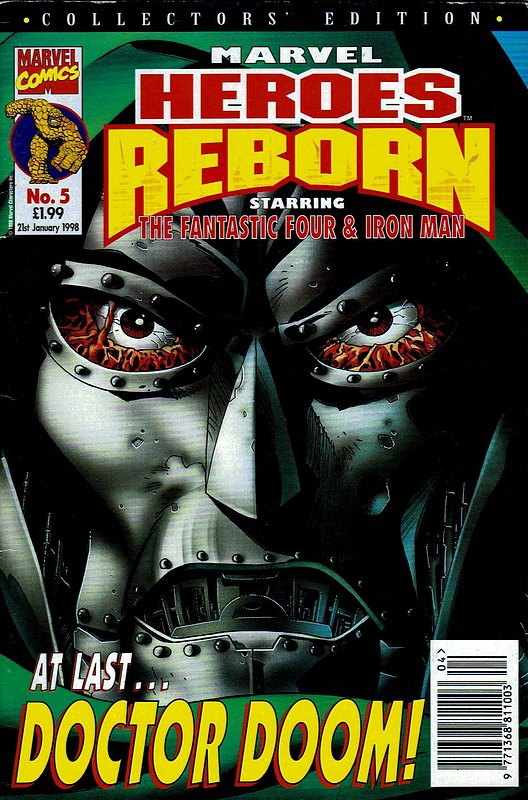Cover of Marvel Heroes Reborn (Vol 1) (UK) #5. One of 250,000 Vintage American Comics on sale from Krypton!