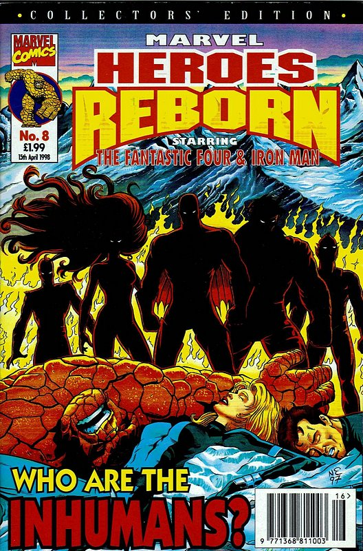 Cover of Marvel Heroes Reborn (Vol 1) (UK) #8. One of 250,000 Vintage American Comics on sale from Krypton!