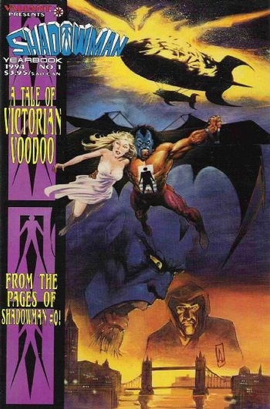 Cover of Shadowman Yearbook (1994 One Shot) #1. One of 250,000 Vintage American Comics on sale from Krypton!