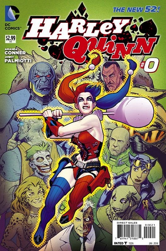Cover of Harley Quinn (Vol 2) #0. One of 250,000 Vintage American Comics on sale from Krypton!