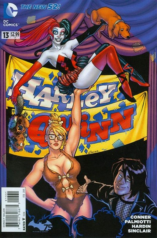 Cover of Harley Quinn (Vol 2) #13. One of 250,000 Vintage American Comics on sale from Krypton!