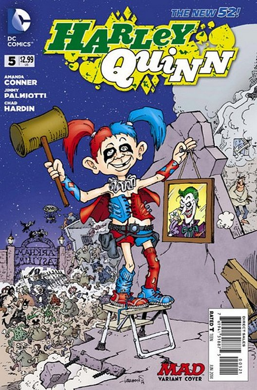 Cover of Harley Quinn (Vol 2) #5. One of 250,000 Vintage American Comics on sale from Krypton!