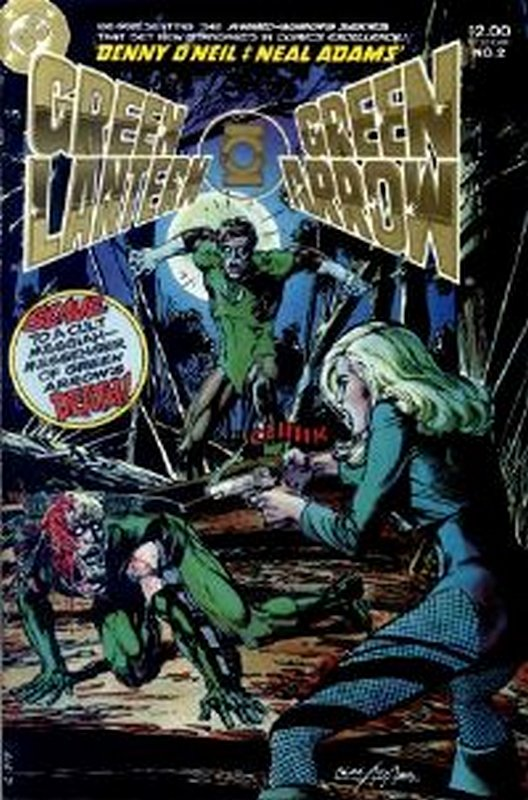 Cover of Green Lantern/Green Arrow (1983 Ltd) #2. One of 250,000 Vintage American Comics on sale from Krypton!