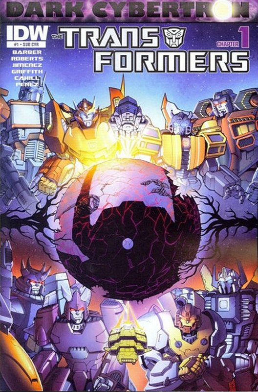 Cover of Transformers: Dark Cybertron (2013 One Shot) #1. One of 250,000 Vintage American Comics on sale from Krypton!